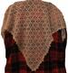mini-chale dentelle au crochet