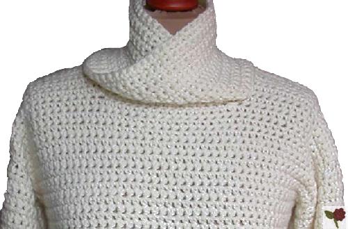 modele de pull au crochet gratuit