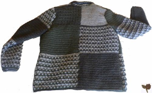 Modele de veste au crochet pour homme