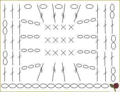 diagramme Point de toile d'araignée 4
