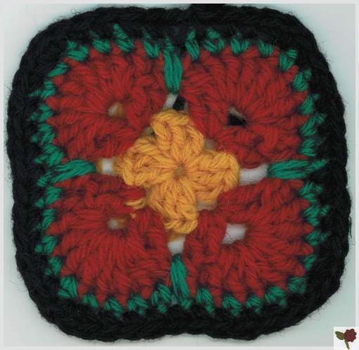 Fleur africaine 4 pétales