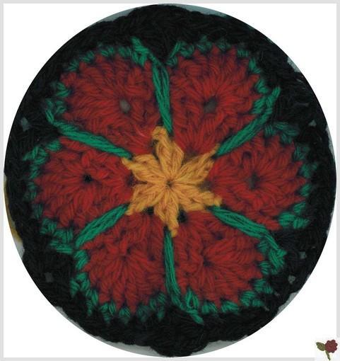 Fleur africaine 6 pétales - Pastorale - Ardelaine