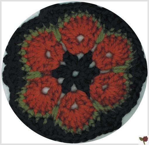 Fleur africaine 6 pétales - Peru - Katia