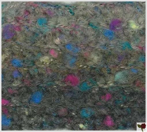 Point à côte (mailles serrées) - Aquarelle - Plassard
