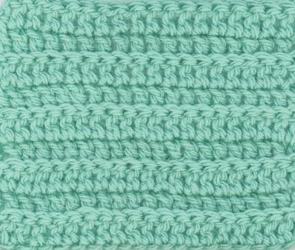 Le crochet points d riv s des mailles de base obtenus en - Demi bride au crochet ...